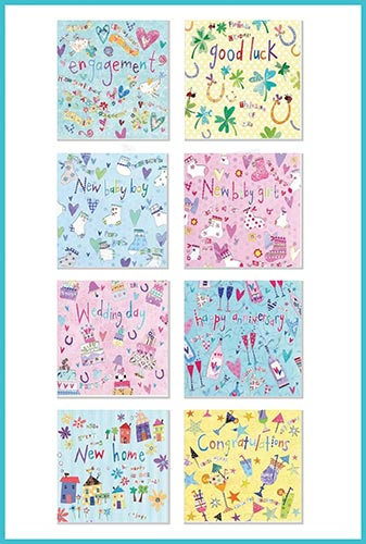 Occasion Card Pack of 8 occasion greetings cards £7.99