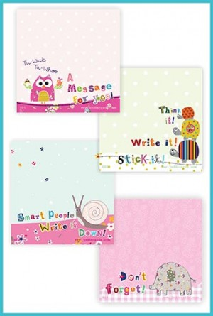 Sticky Note pads - Quadruple packs - £7.99