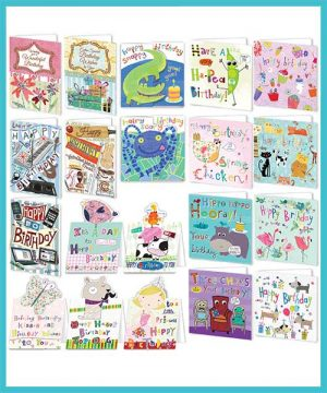 Bumper pack of 20 assorted greeting cards - £18.99